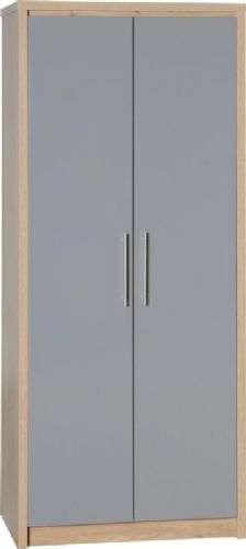 Seville 2 Door Wardrobe GREY
